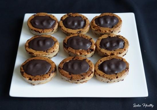 petits gâteaux aux cacahuètes et chocolat3