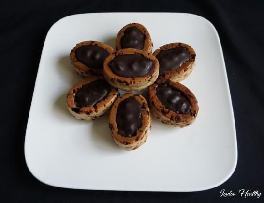 petits gâteaux aux cacahuètes et chocolat4
