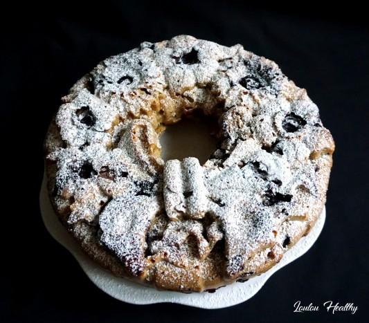 cake aux pommes et aux myrtilles2