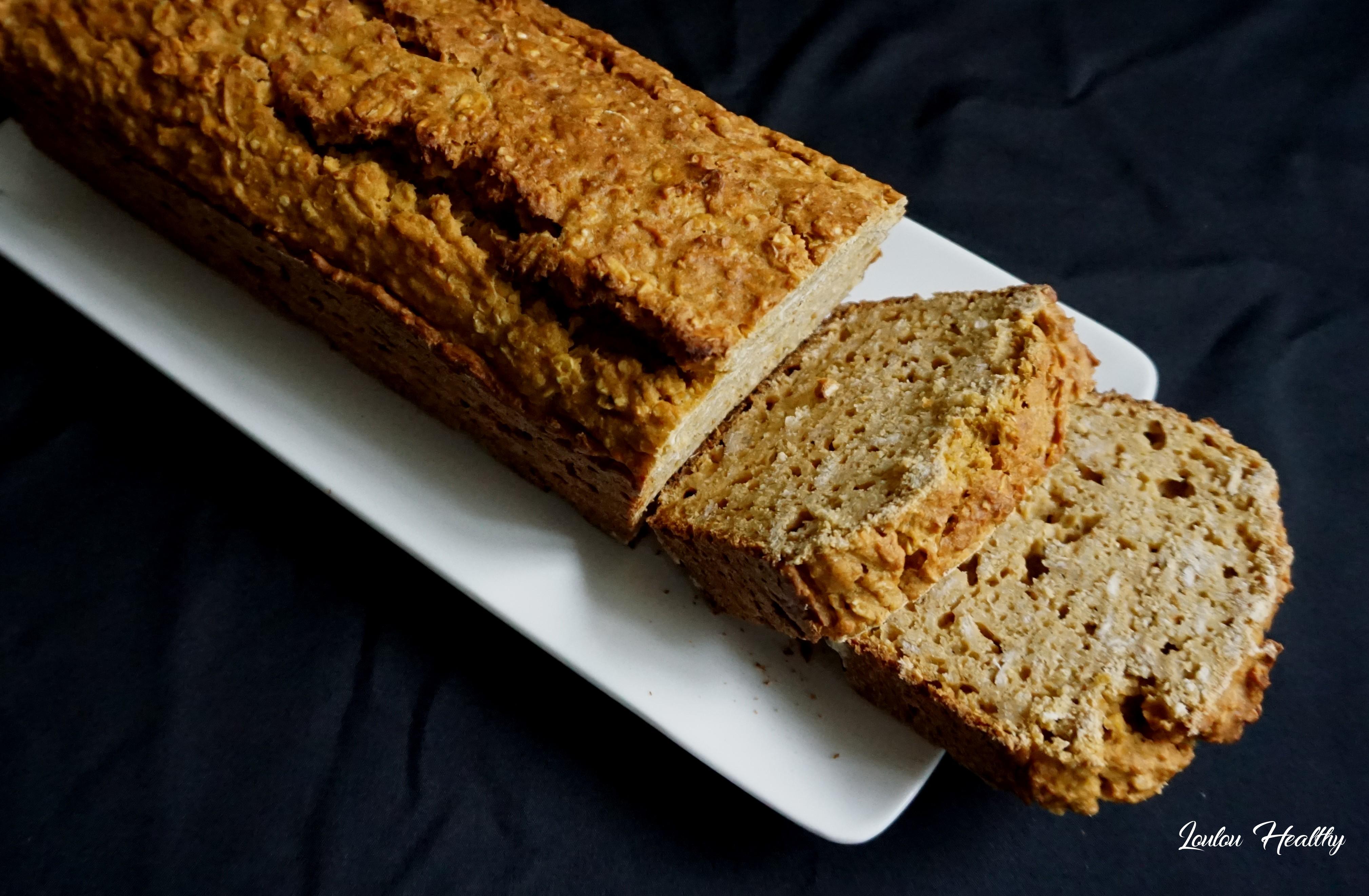 cake à la patate douce, céréales et citron2