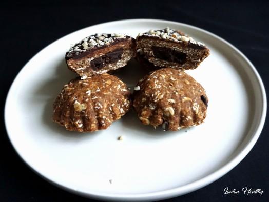 domes aux cacahuètes et au chocolat