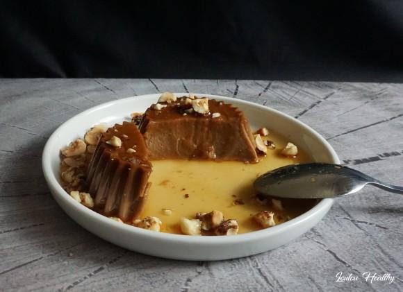 flan kamut noisette caramel