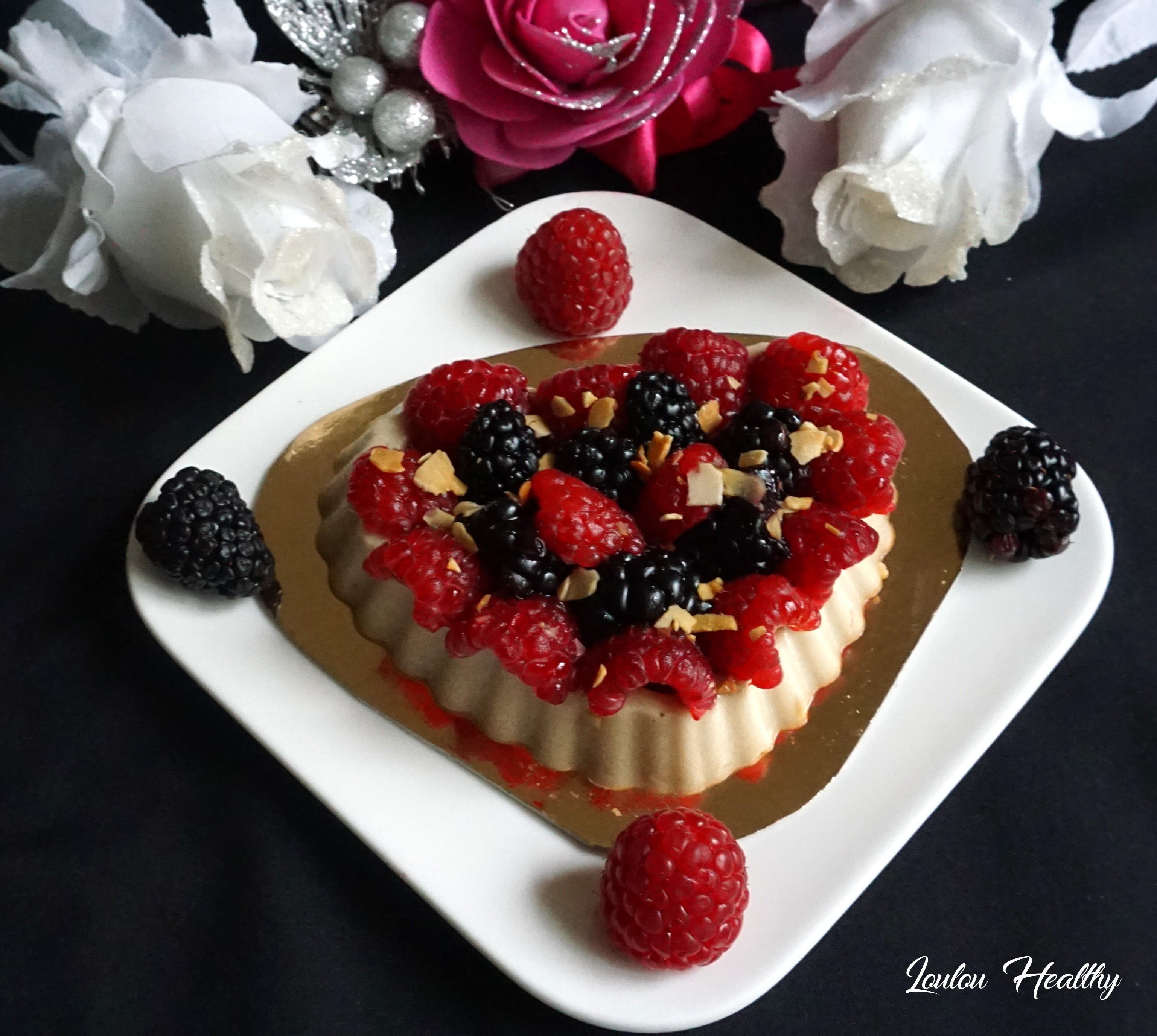 tartelettes flan amande et fruits rouges4