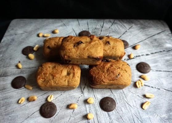 petits cakes choco-cacahuètes4