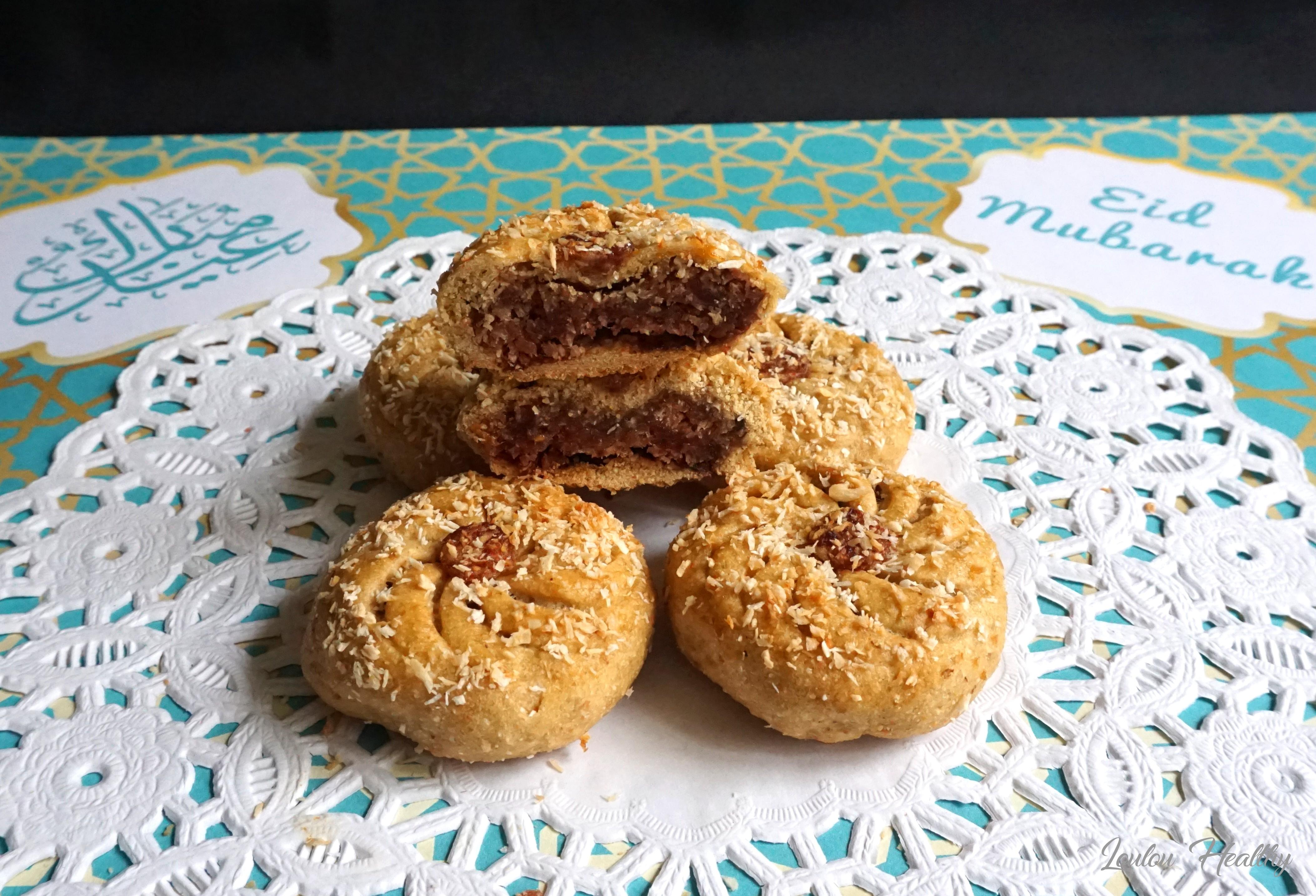 biscuits fourrés dattes noix de coco