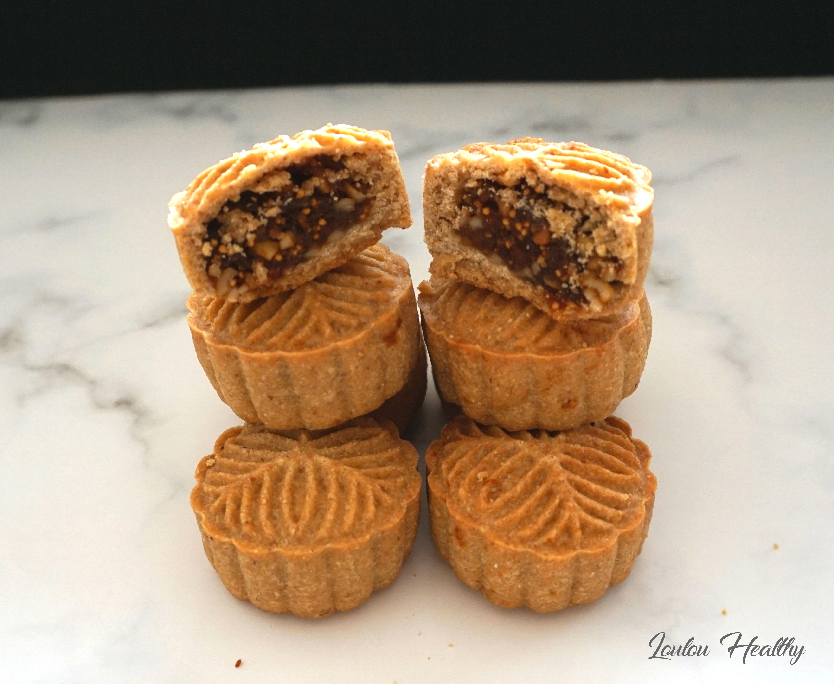 mooncakes figues-noix de cajou