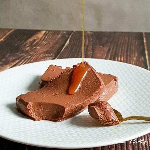 parfait choco-cacahuète