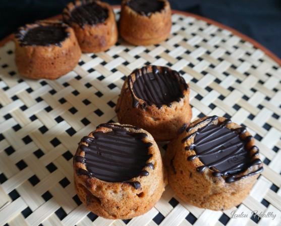 petits cakes aux raisins secs, caramel fleur de sel à la vanille et chocolat4