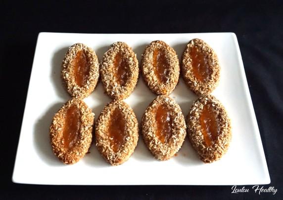 barquettes à la noix de coco et confiture de pomelos2