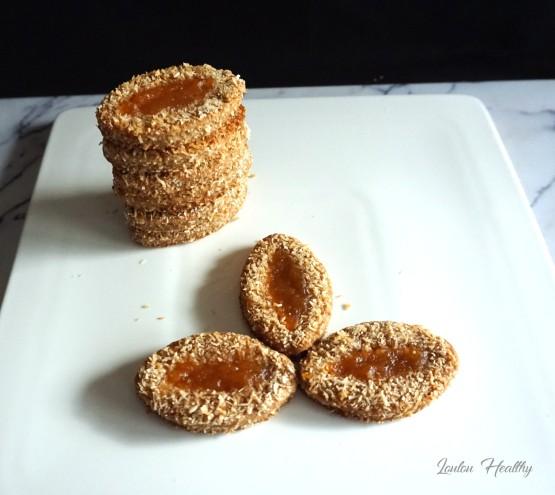 barquettes à la noix de coco et confiture de pomelos4