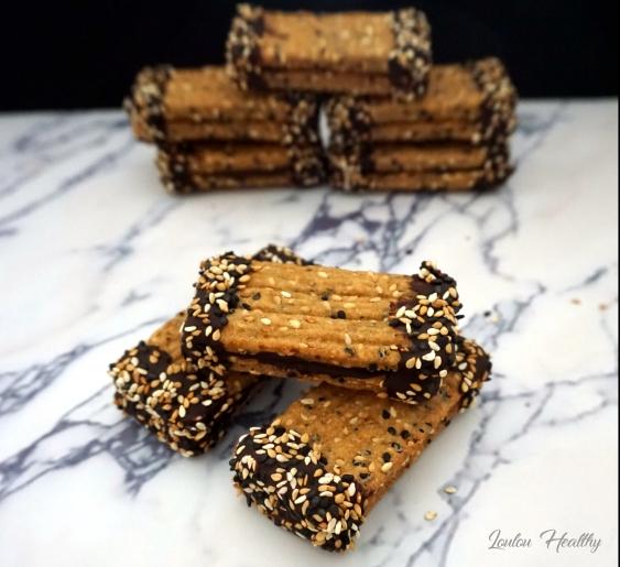 languettes aux graines de sésame et chocolat4