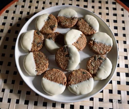 palets aux céréales, graines de courge et chocolat blanc2