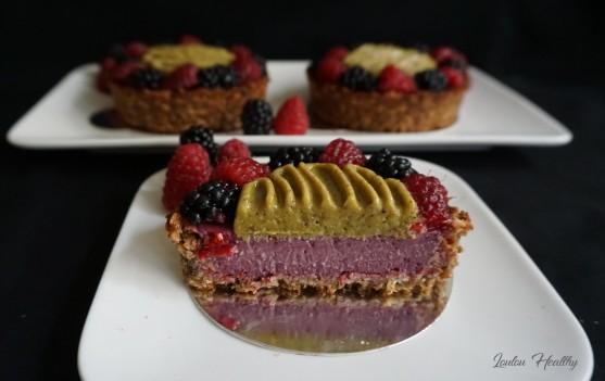 tartelettes fruits et pistache
