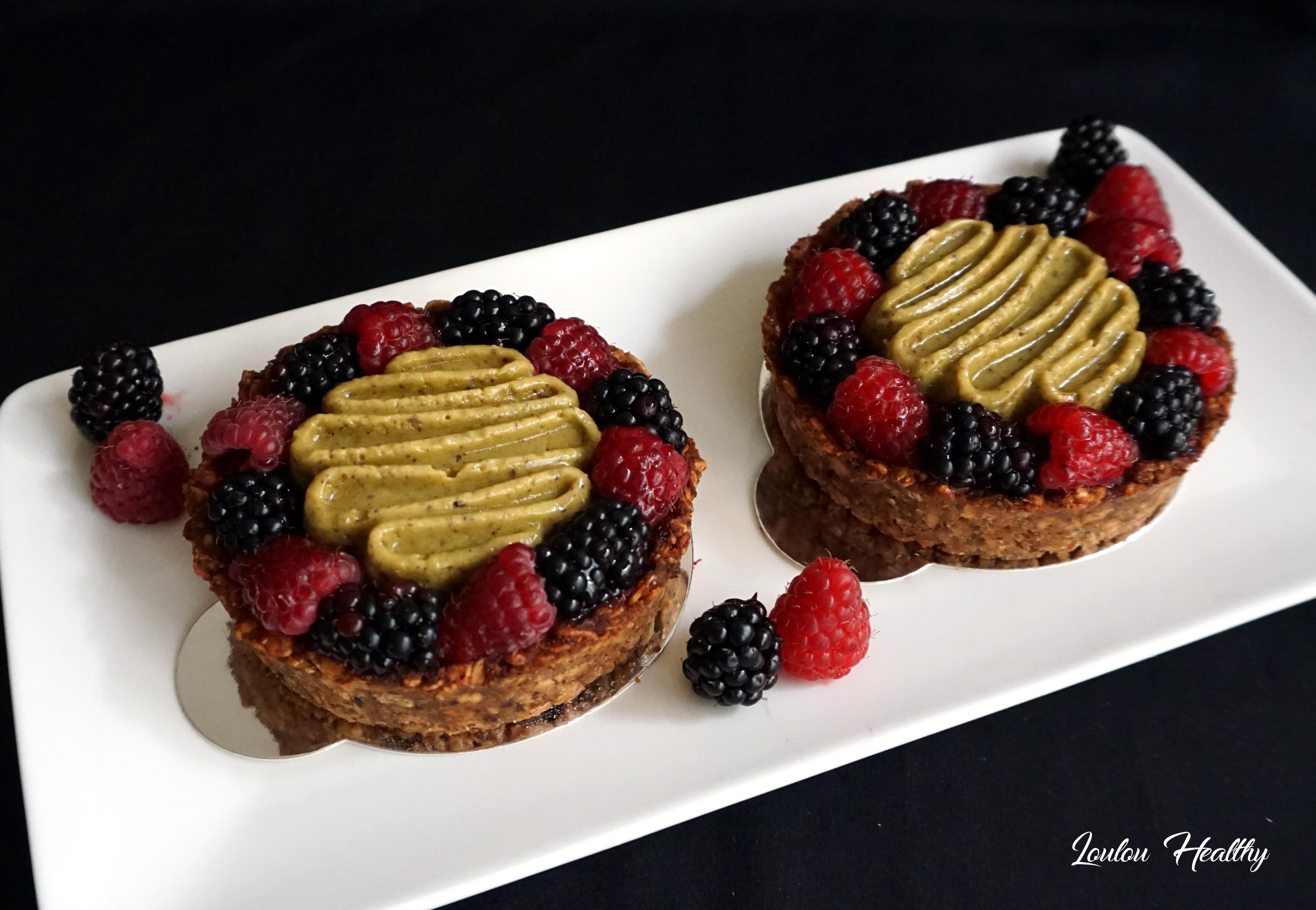 tartelettes fruits et pistache3