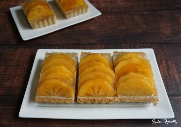 tartelettes aux kakis et crème fruits et graines2
