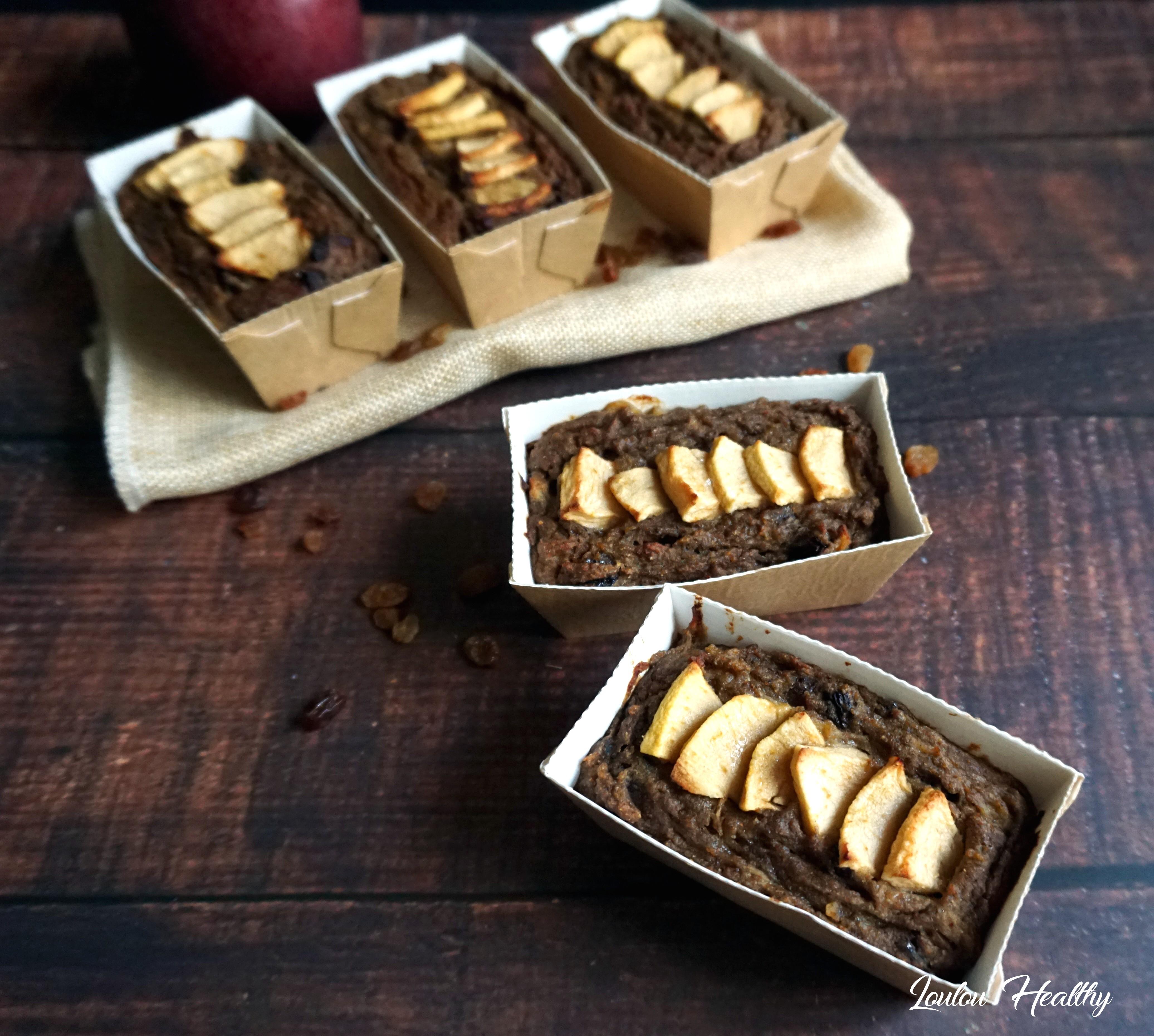 apple bread aux raisins secs4