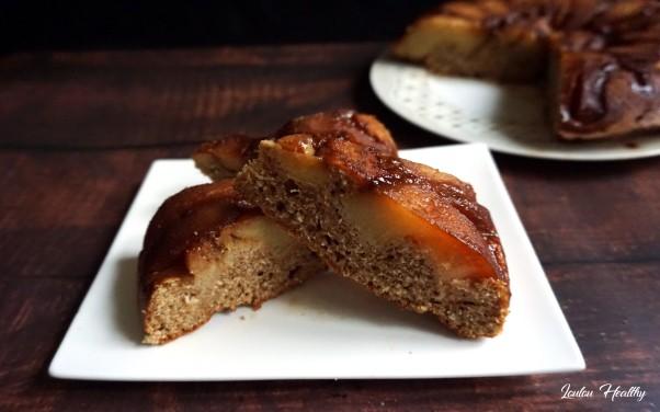 cake coings,noix de coco façon tatin