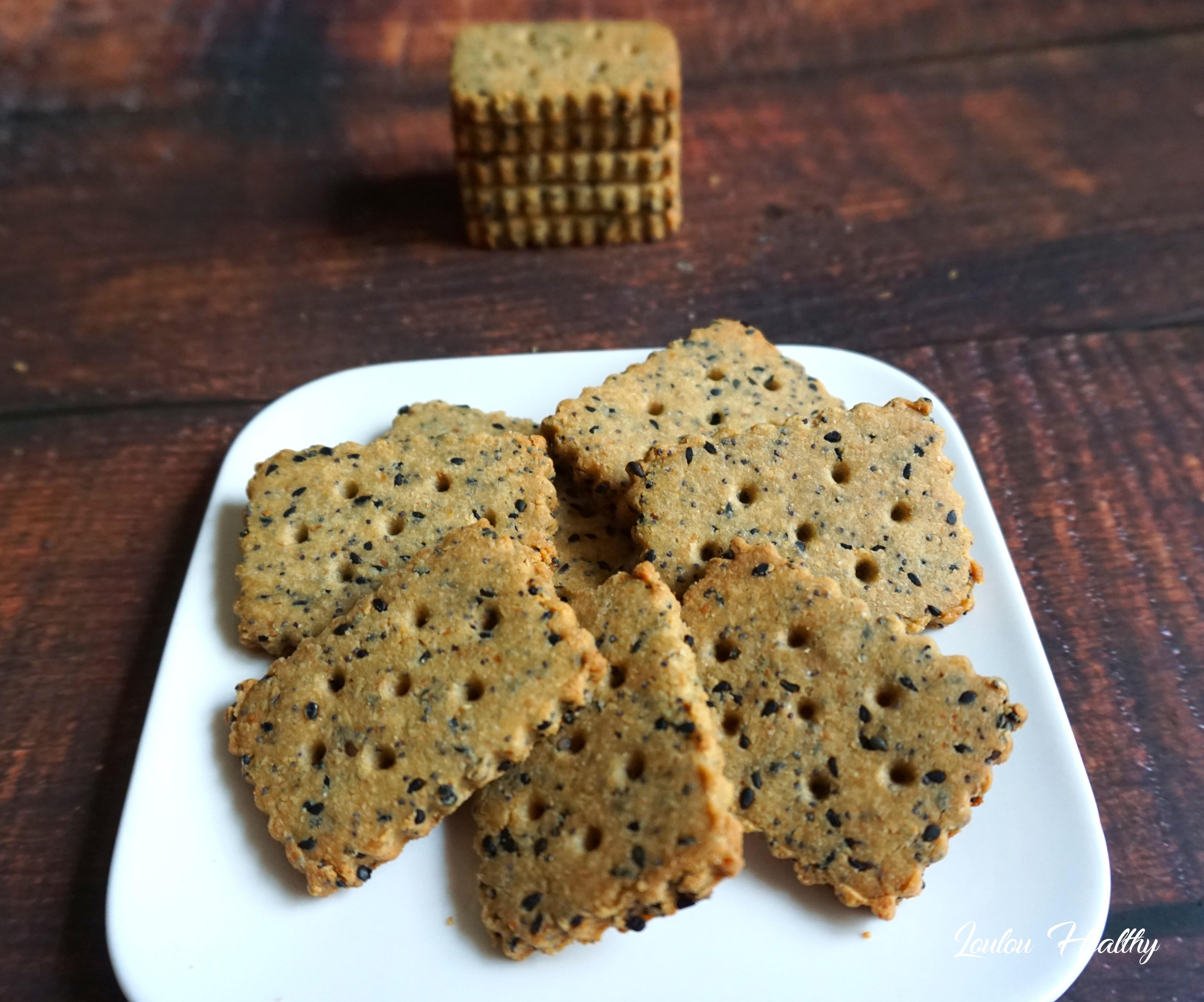 biscuits aux graines noires