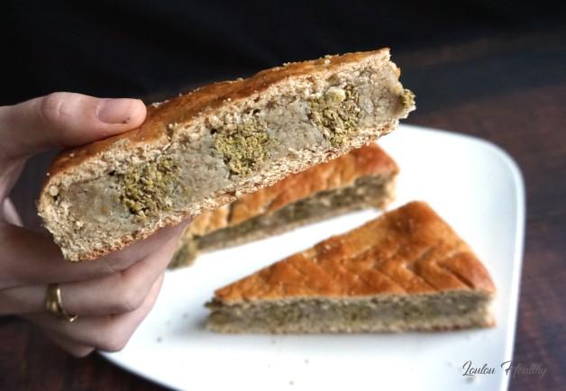 galette noix de cajou, pistache