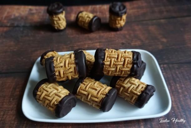 rouleaux aux cacahuètes et chocolat4