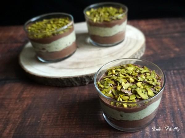 verrines choco-pistache