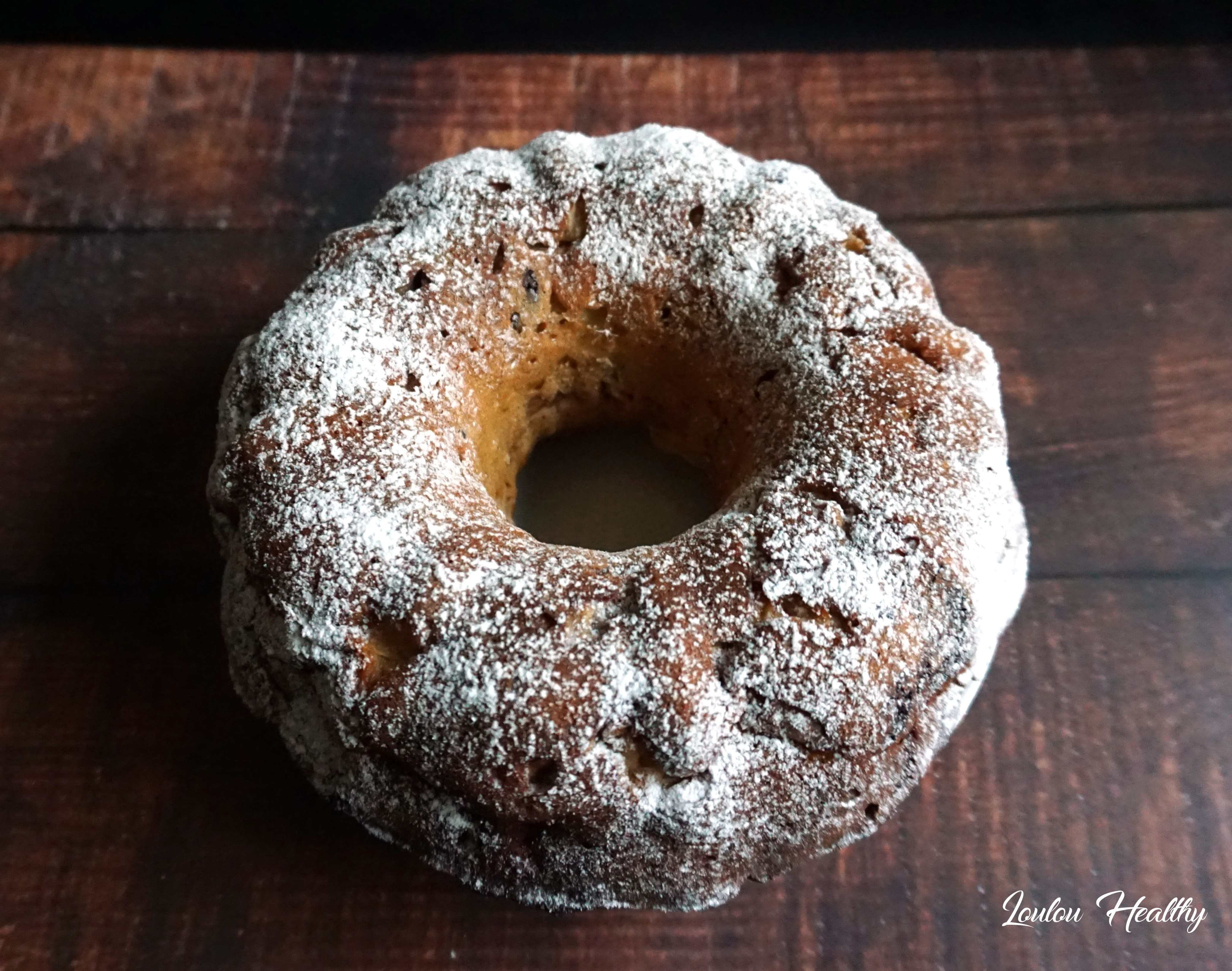 cake pomme, noix, chocolat2