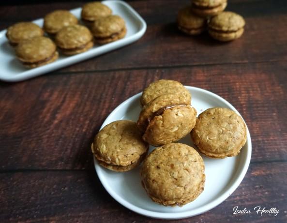 macarons avoine-chocolat