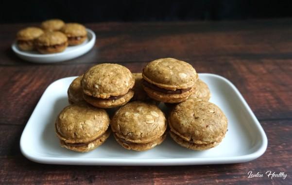 macarons avoine-chocolat2
