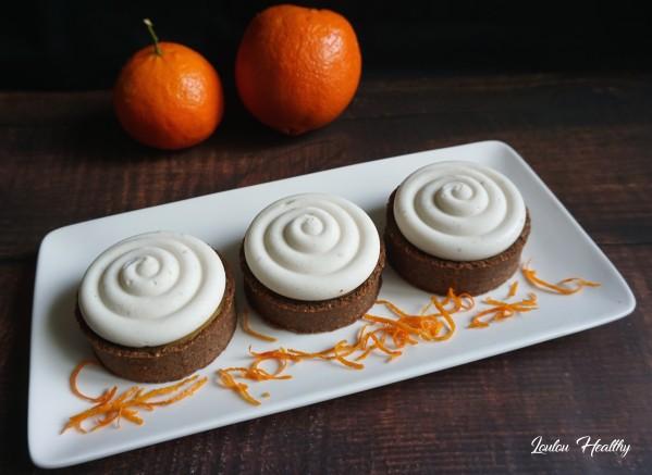 tartelettes orange, clémentine et crème coco2