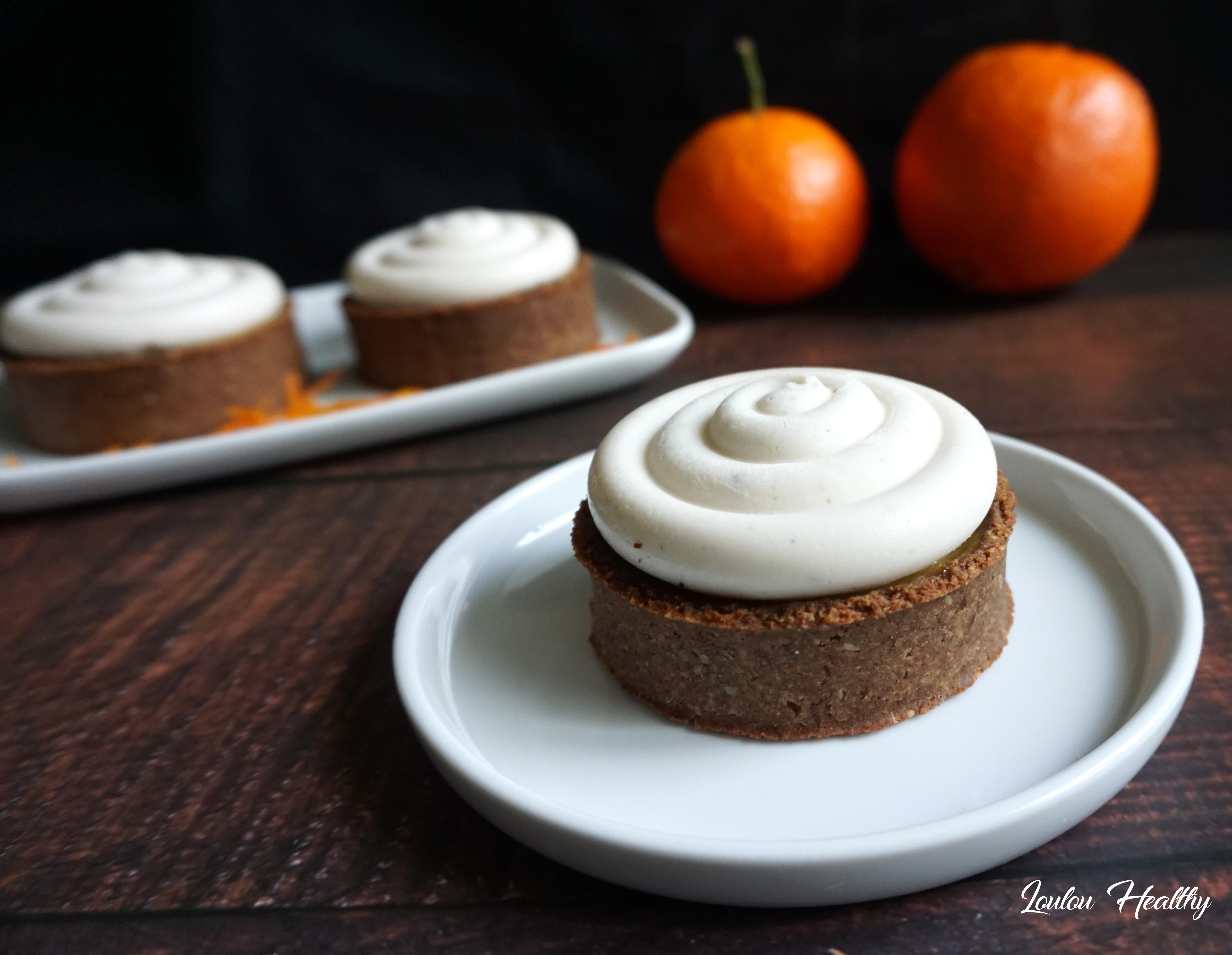 tartelettes orange, clémentine et crème coco3