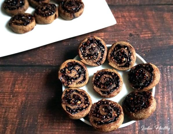 bicuits roulés datte-noix