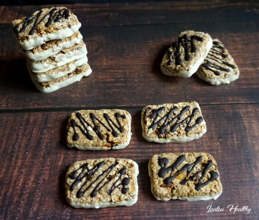 biscuits aux céréales, goji et chocolat blanc