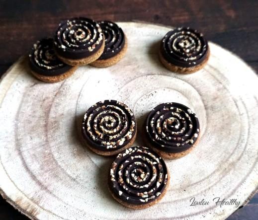 biscuits chocolat et noisette