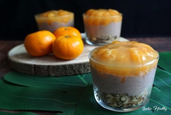cheesecake chocolat, mandarine en verrines3