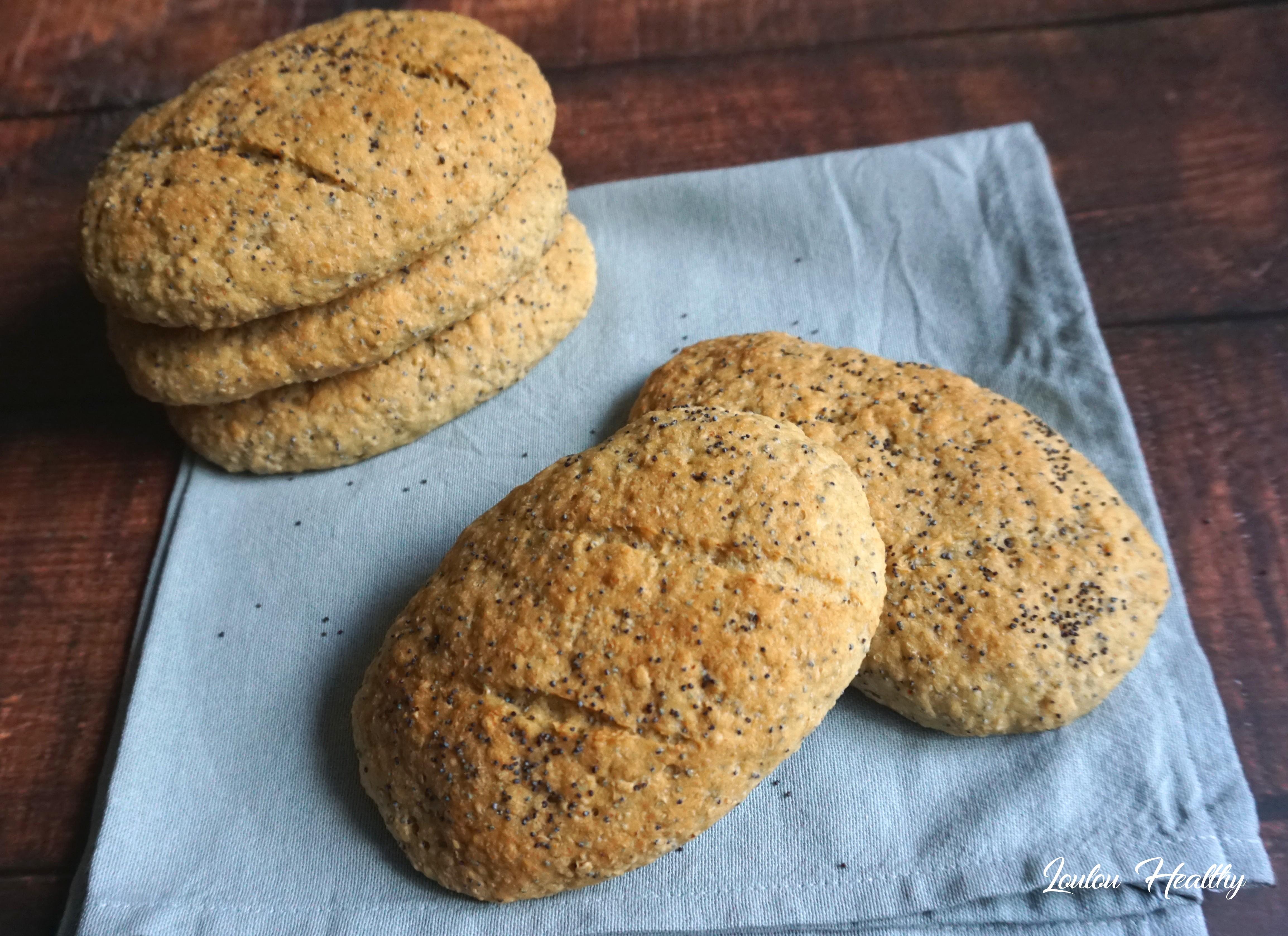 pains à l'avoine et graines de pavot5