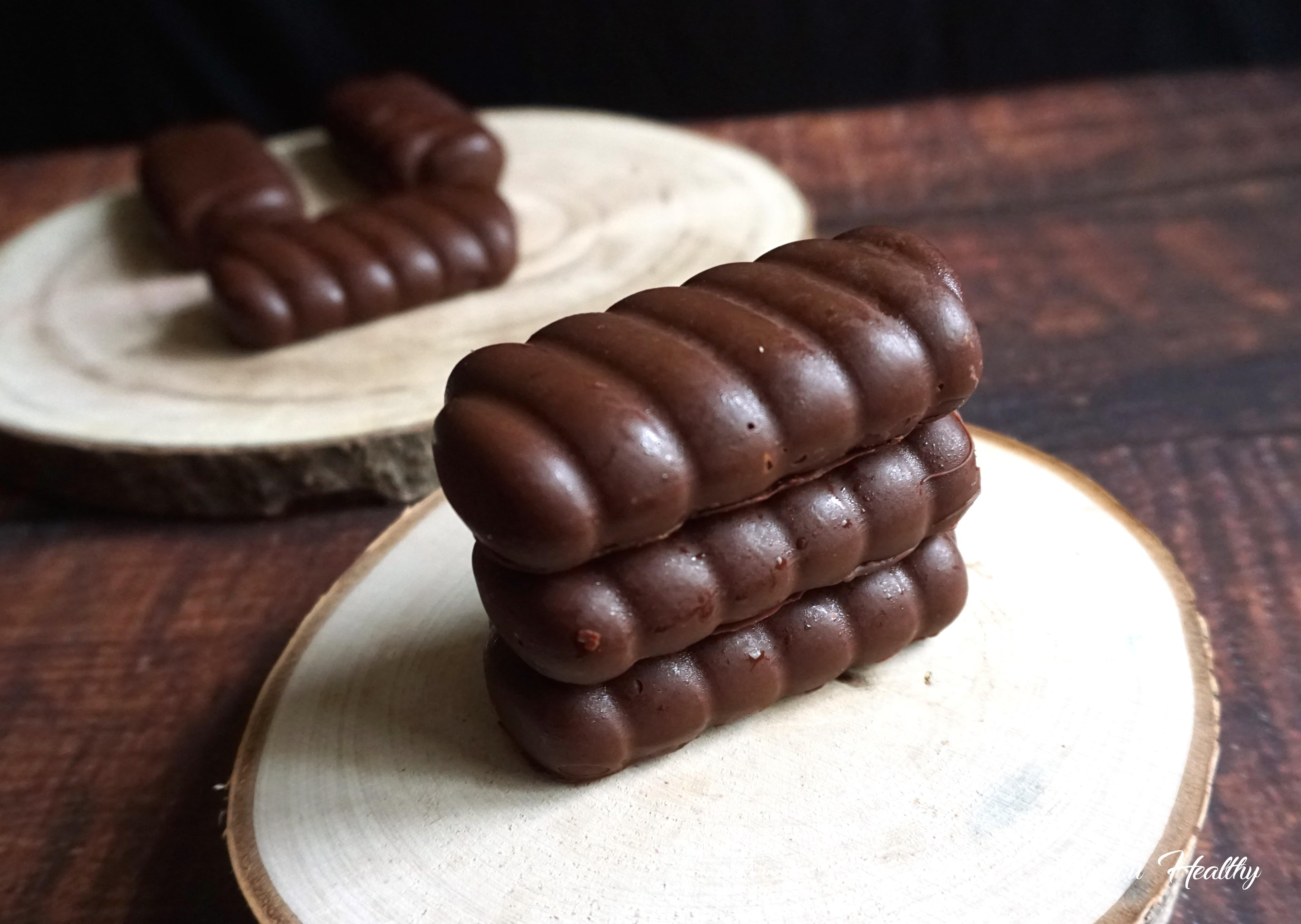 barres chocolat au pancake, cacahuètes et pâte à tartiner cacaotée3