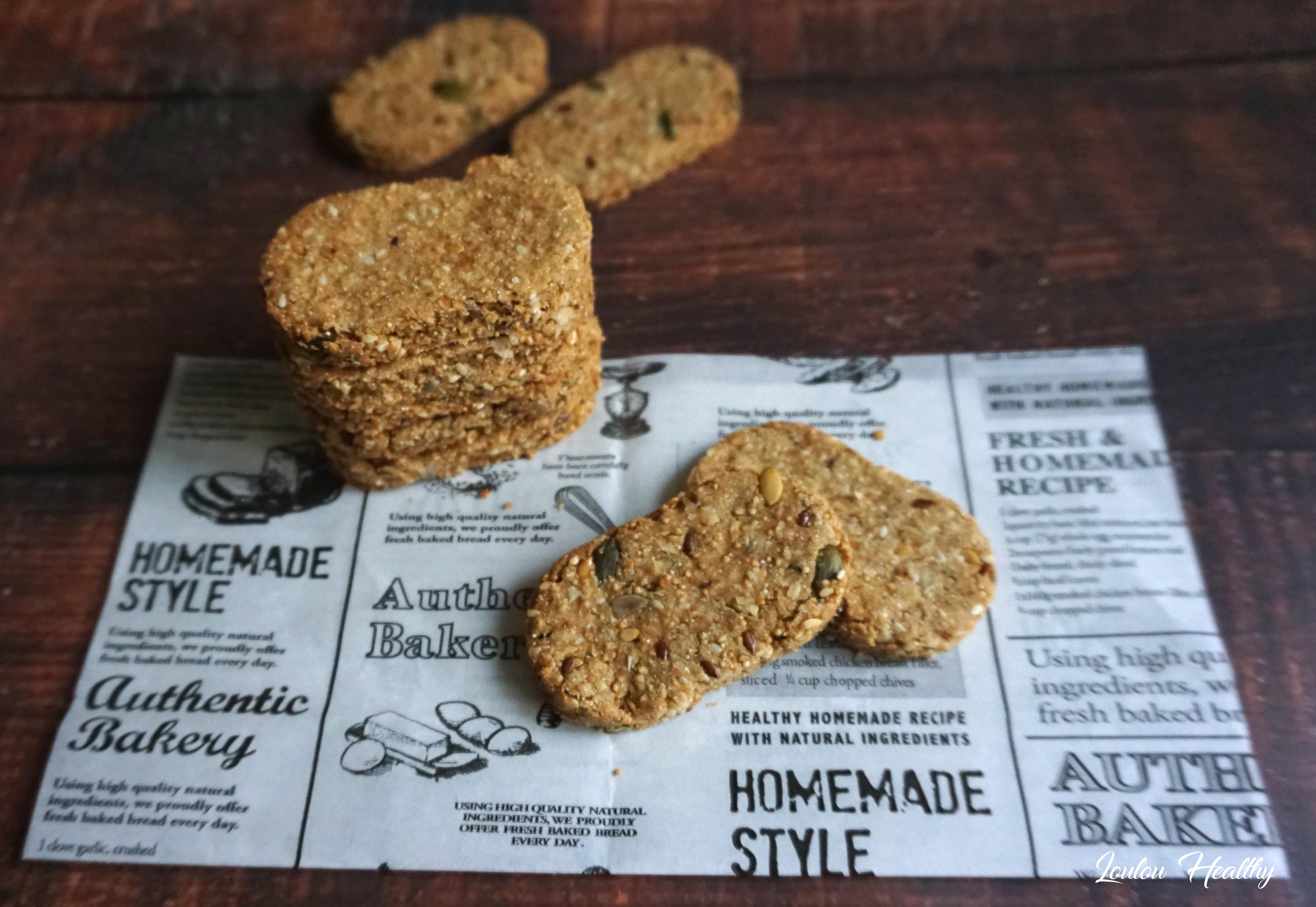 biscuits à l'amarante, aux graines et aux fruits secs2