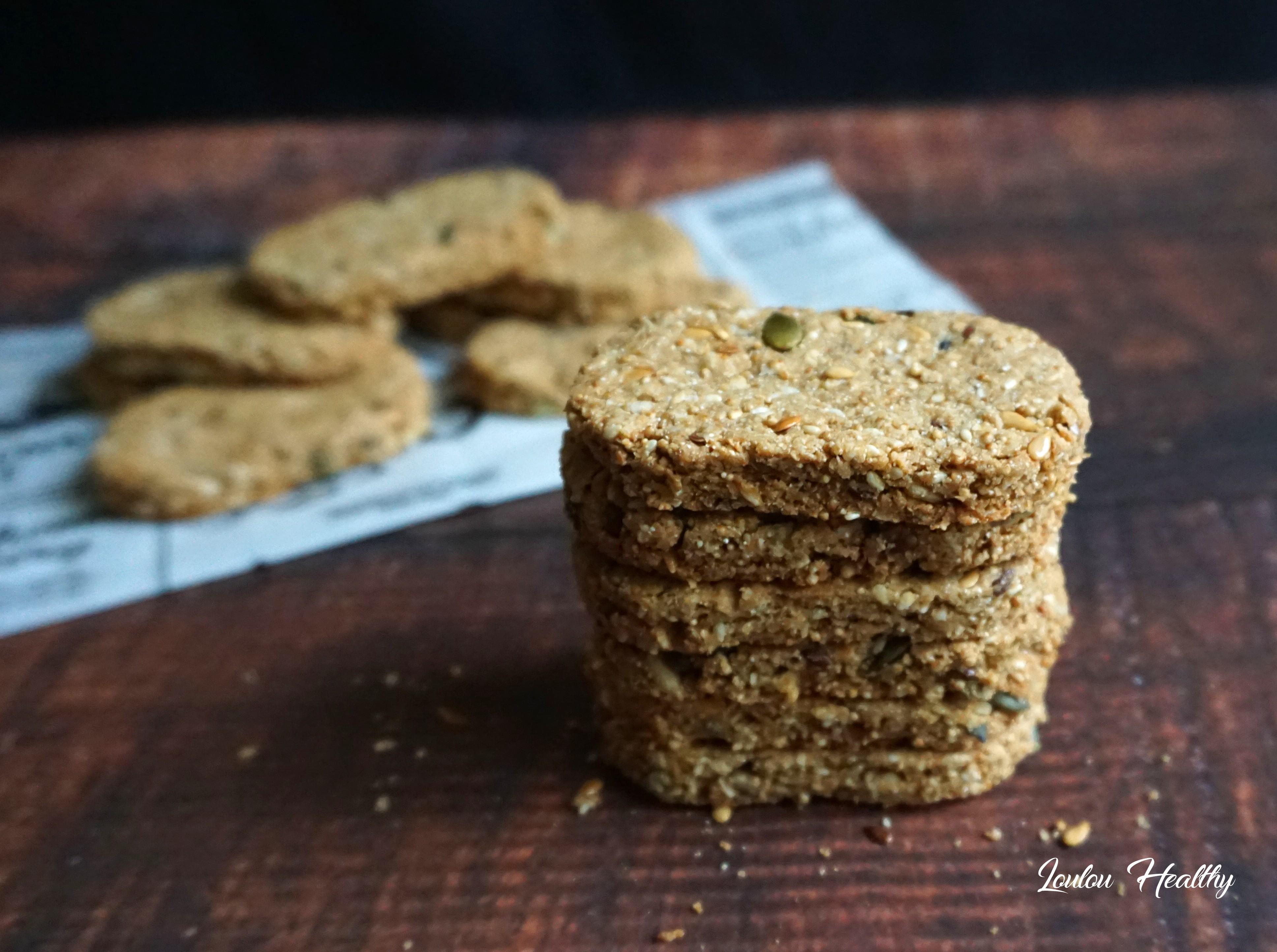 biscuits à l'amarante, aux graines et aux fruits secs4