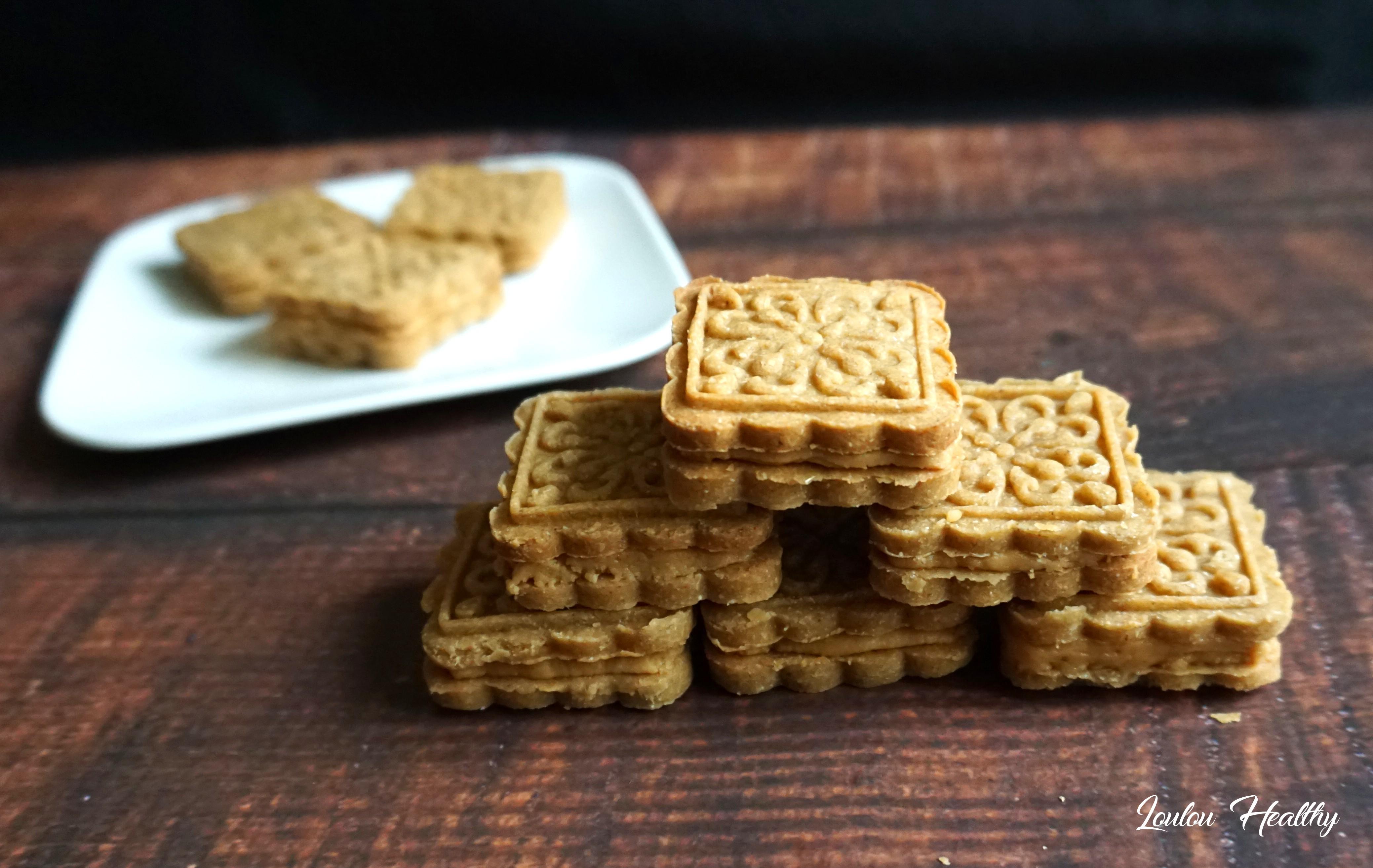 biscuits fourrés peanut butter