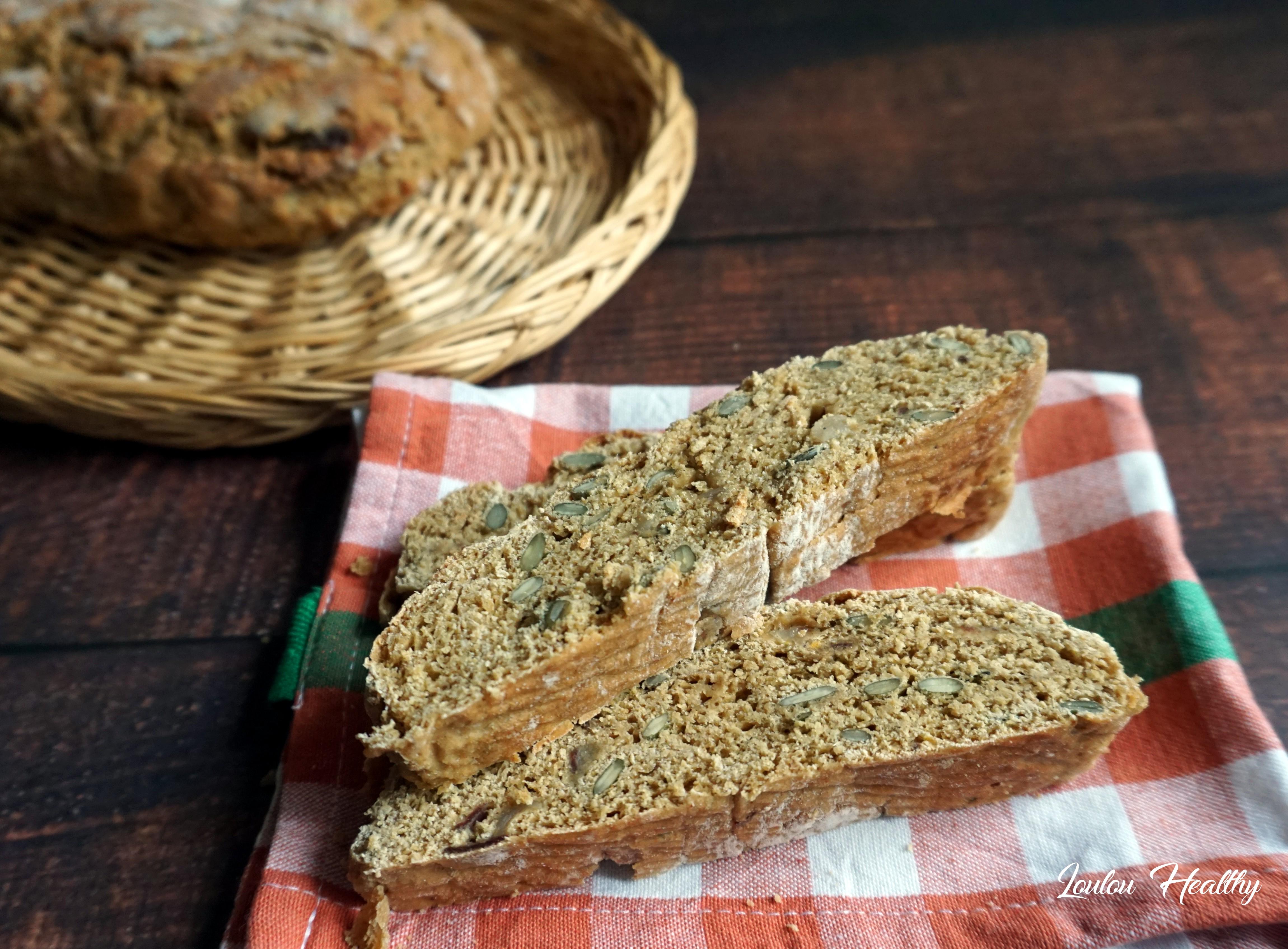 pains courge et aux dattes