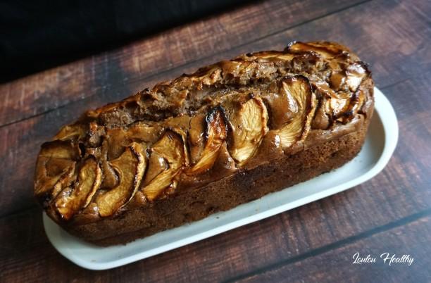 cake à l'infusion orgé, pomme et chataigne4