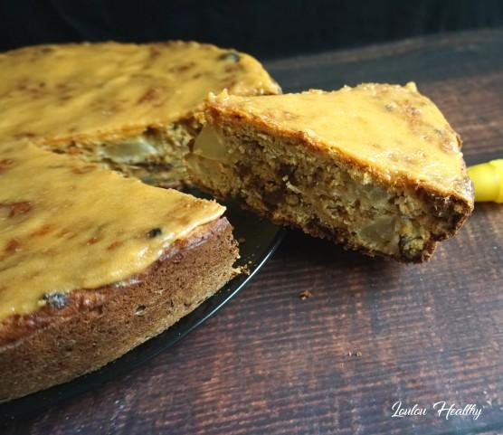 carrot cake poire, abricots et raisins secs2