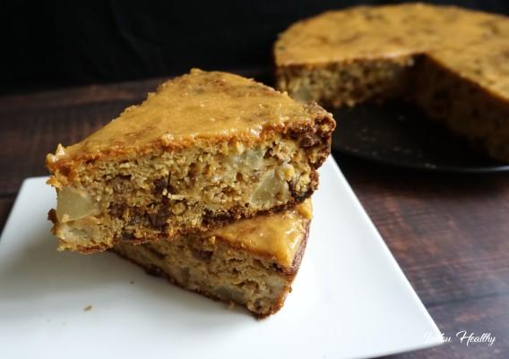 carrot cake poire, abricots et raisins secs4