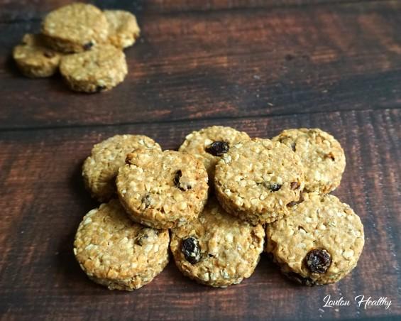 cookies aux céréales, amandes et cacahuètes3