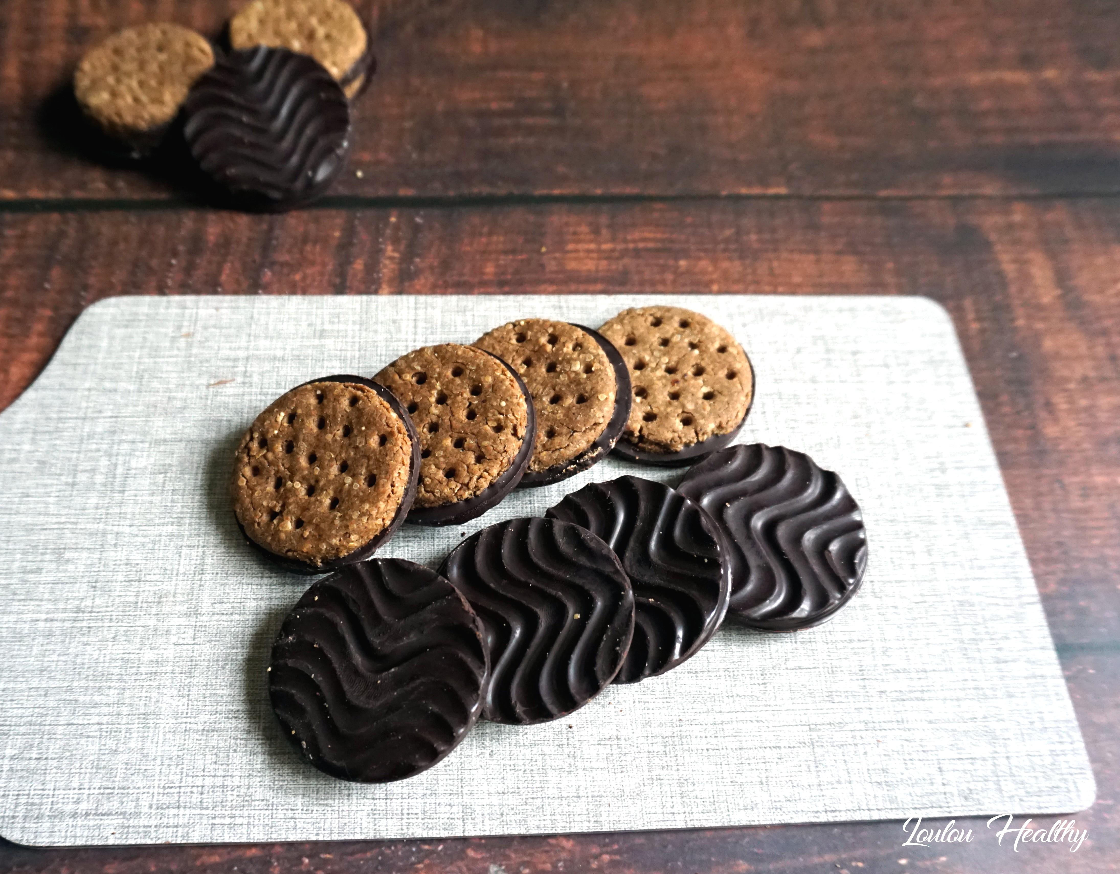 biscuits aux céréales et chocolat façon granola