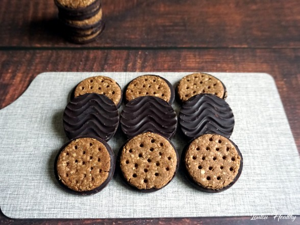 biscuits aux céréales et chocolat façon granola3