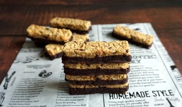 barres aux céréales, cacahuètes, pignons et chocolat2