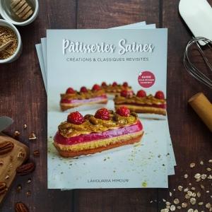 Livre Pâtisseries Saines